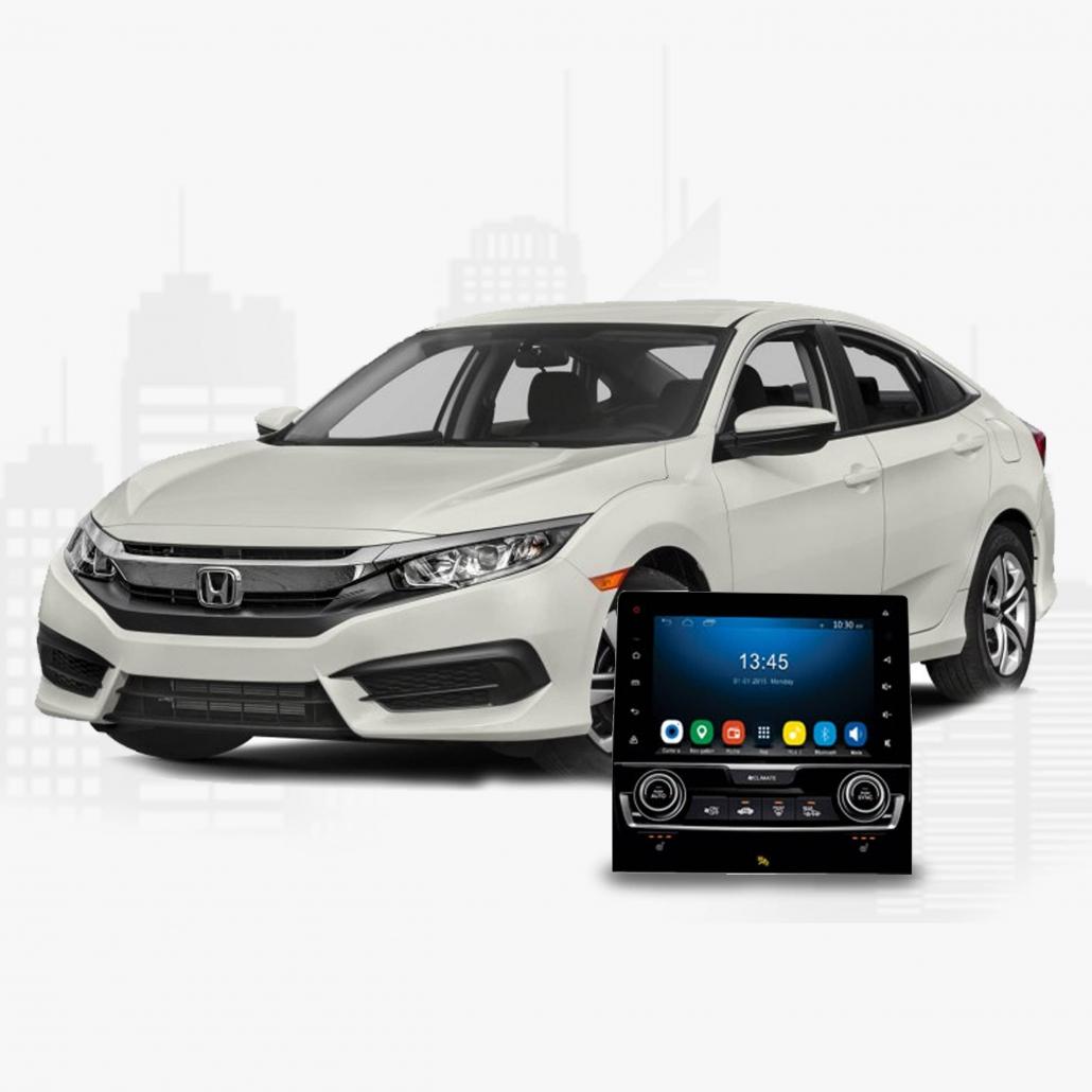 Honda Civic 2019 Indash Navigation Android System