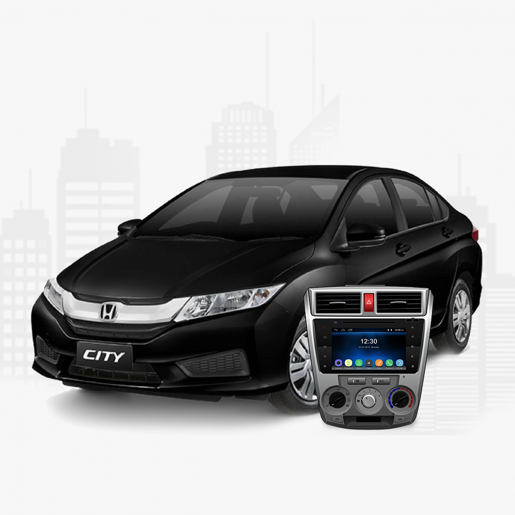 Tracking World | Honda City Indash Navigation (2008 - 2019